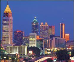 Skyline of Atlanta - ABA's Hometown